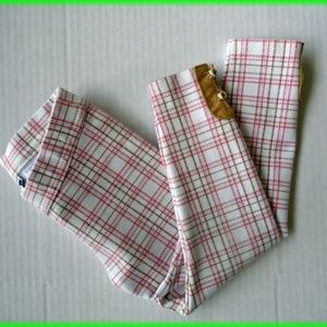 Jane and Jack Plaid Ponte Pant Size 3